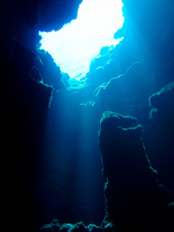 Underwater Cave Diving